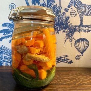 Wild fermentierte Karotten