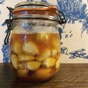 Honig-Knoblauch-Ferment
