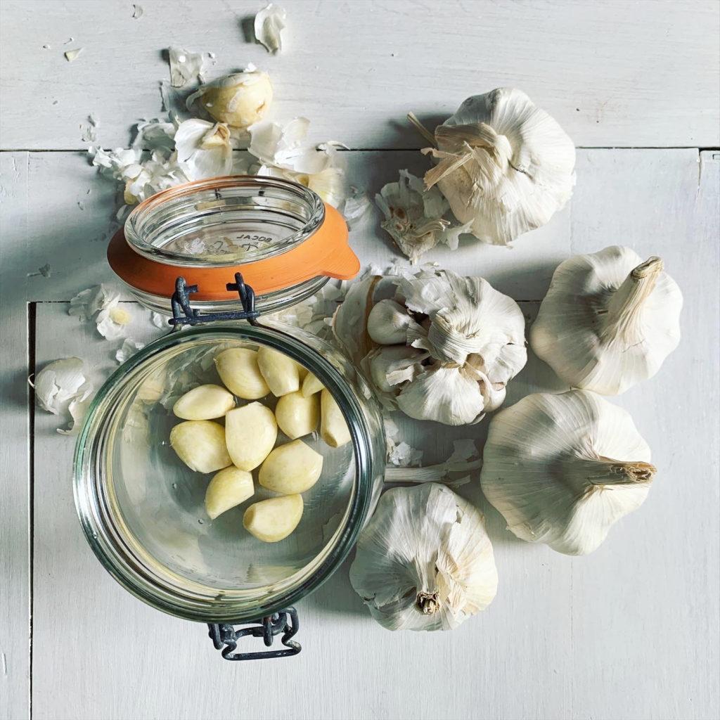 Knoblauch Fermentation