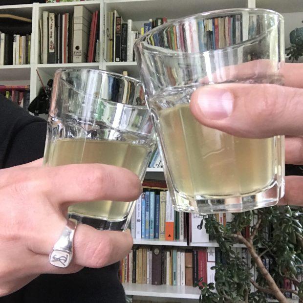 Tepache trinken
