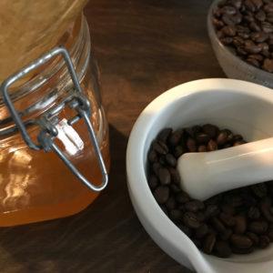 Katsulua. Fermentierter Kaffee.