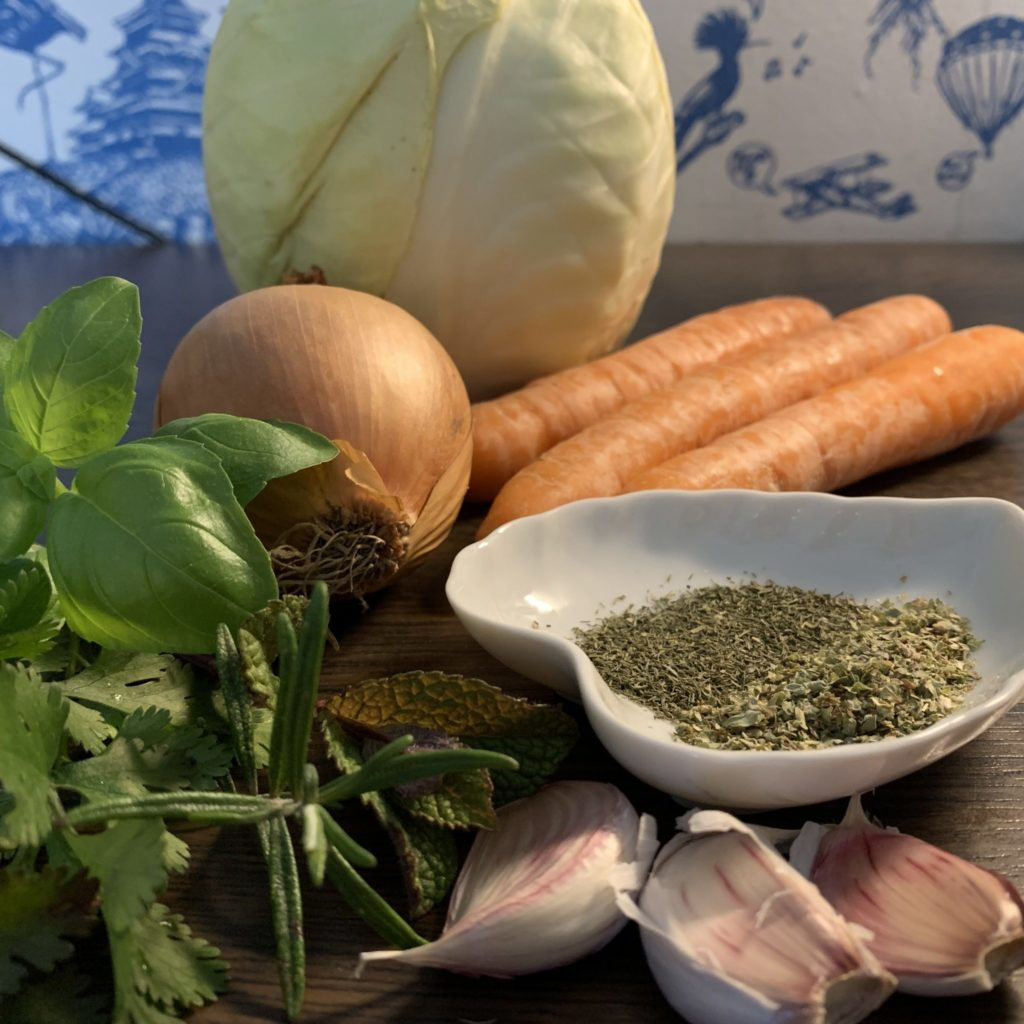 Georgisches Sauerkraut